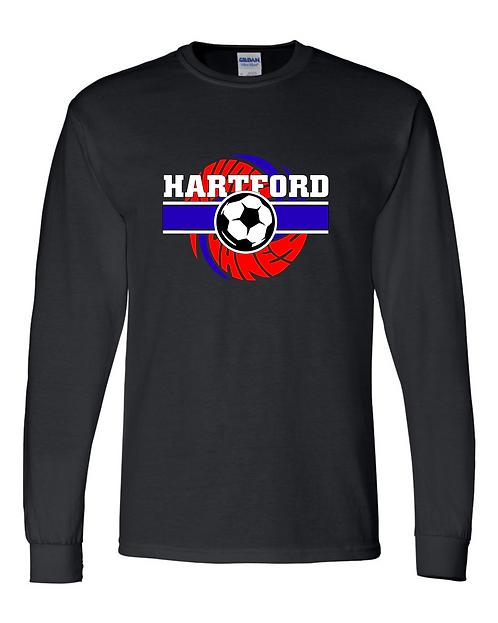 HHS Soccer Gildan - DryBlend 50/50 Long Sleeve T-Shirt - 8400