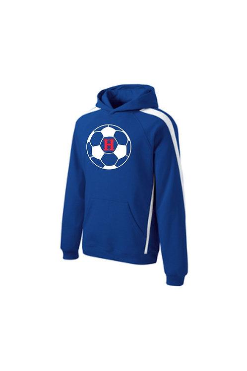 Hartford Soccer Sport-Tek® Sleeve Stripe Pullover Hooded Sweatshirt