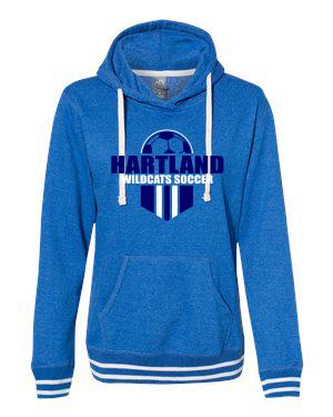 J. America Women's Relay Hooded Sweatshirt - 8651
