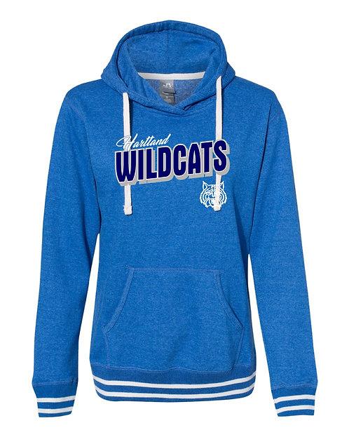 Hartford Heat J. America Women's Relay Hooded Sweatshirt - 8651