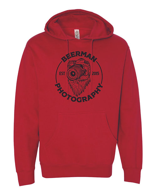 Beerman Photography Independent Trading Co. - Midweight Hooded Sweatshirt