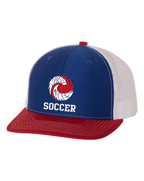 HHS Soccer Port Authority Snapback Trucker Cap