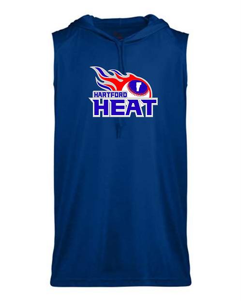 Hartford Heat Badger B-Core Sleeveless Hooded T-Shirt