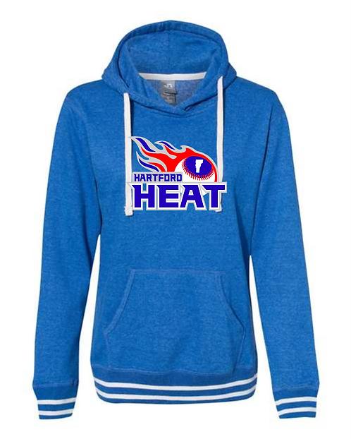 Hartford Heat J. America Women's Relay Hooded Sweatshirt
