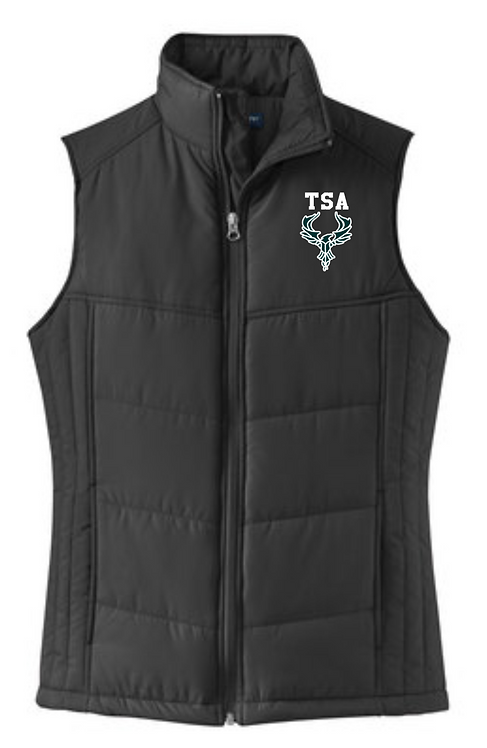 Port Authority Ladies Puffy Vest - L709