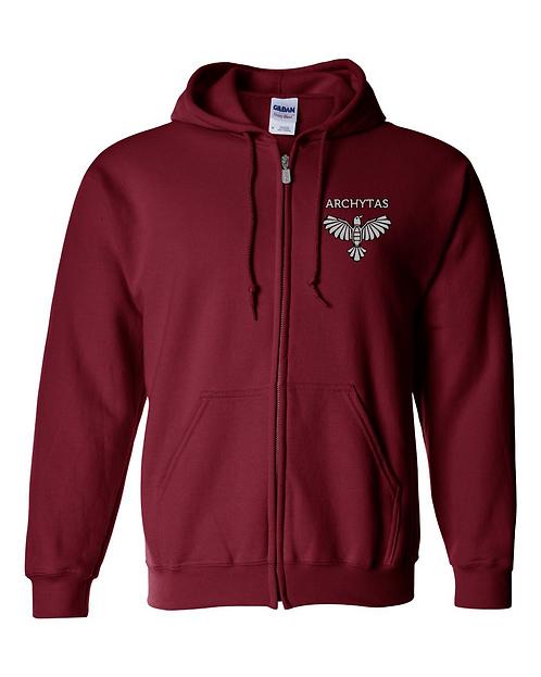 Gildan Heavy Blend Full Zip Hooded Sweatshirt - 18600