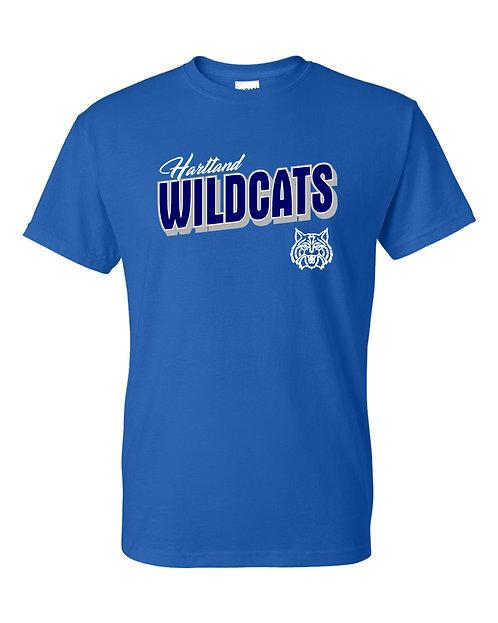 Hartland Wildcats Gildan G800 t-shirt