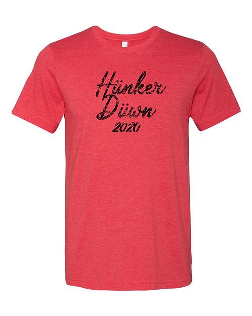 Hunker Duwn 2020 CVC Jersey Tee