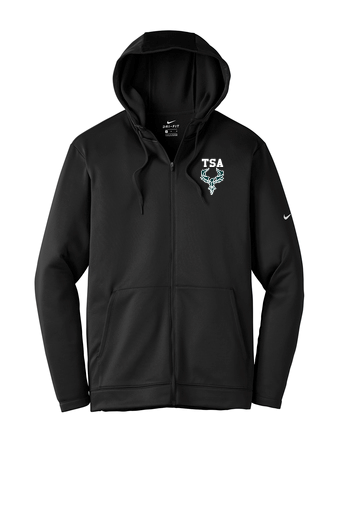 Nike Adult Therma-FIT Full-Zip Fleece Hoodie - NKAH6259