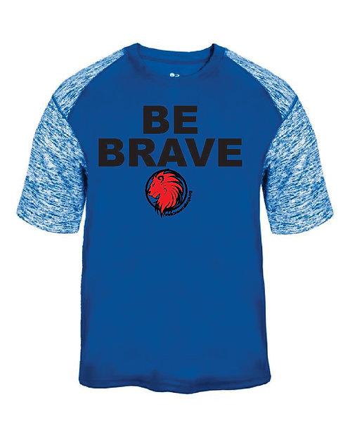Be Brave Badger Blend Sport Adult T-Shirt - 4151