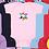 Thumbnail: RS4400 Rabbit Skins Infant Short Sleeve Baby Rib Bodysuit