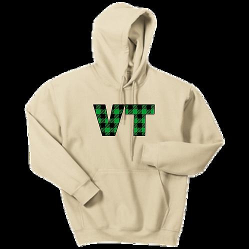 VT Plaid Hoodie