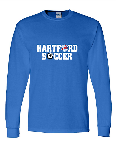 HHS Soccer Gildan - DryBlend 50/50 Long Sleeve T-Shirt - 8400