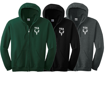 18600 Gildan - Heavy Blend Full-Zip Hooded Sweatshirt