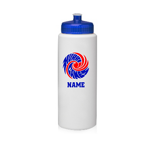 32 oz. HDPE Plastic Sports Water Bottle