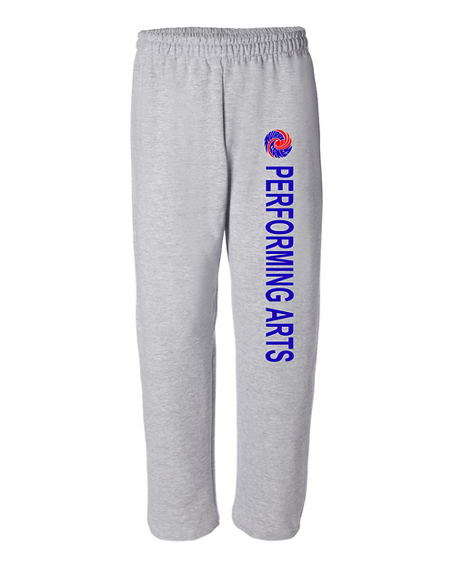 Performing Arts Gildan Heavy Blend Open Bottom Sweatpant. 18400