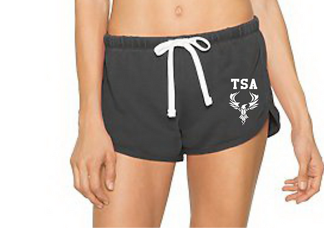 TF304W American Apparel Ladies' French Terry Garment-Dyed Short