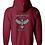 Thumbnail: Gildan Heavy Blend Full Zip Hooded Sweatshirt - 18600