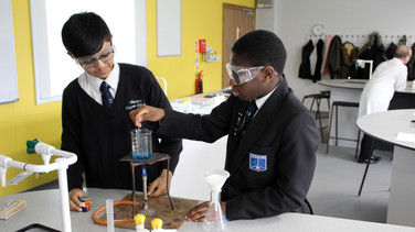 Wootton Upper Science Lab Opening