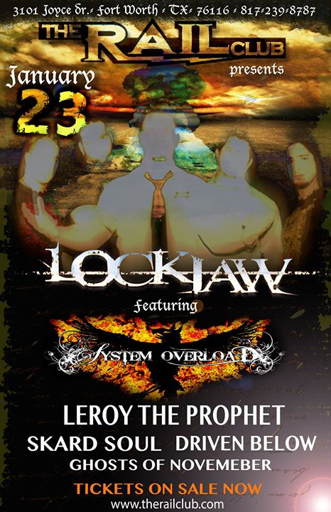 THE SHOW IS FINALIZED!__LOCKJAW_SYSTEM OVERLOAD_LEROY THE PROPHET_SKARD SOUL_DRIVEN BELOW _GHOSTS OF