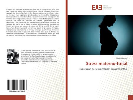 Stress materno-foetal, enfin disponible en ligne sur Amazon