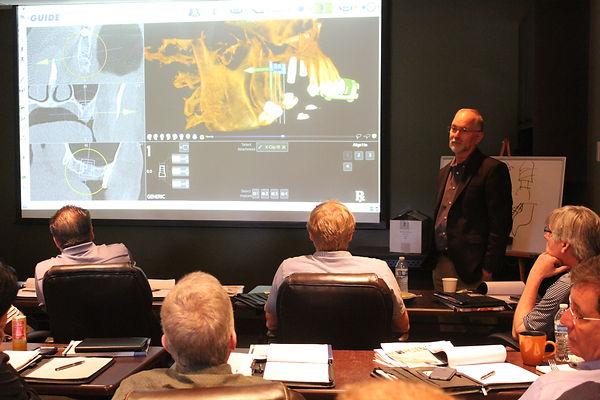 Dr. Cullum Teaching a Course
