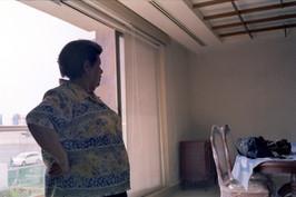La abuela en su nueva casa