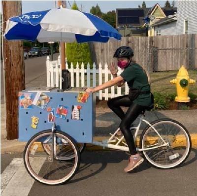 ice cream bike