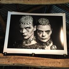 "Exhibition ""Silver brain""."