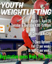Youth Weightlifting - Starts March 1!