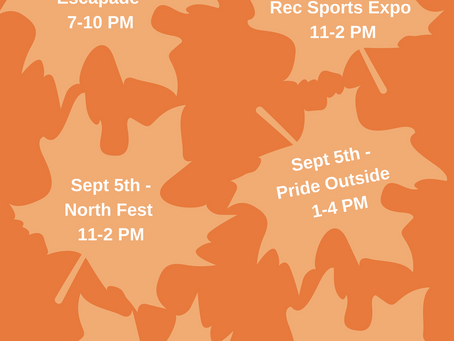 Fall Recruitment Events!