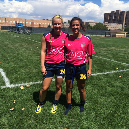 UMWRFC players attend high performance camp!
