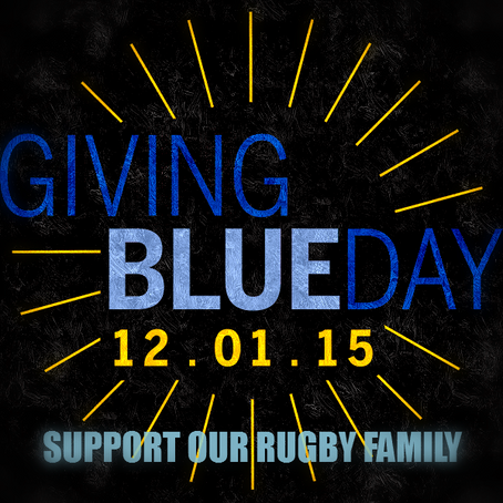 GIVING BLUE DAY!