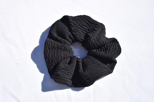 Schwarzer Scrunchie