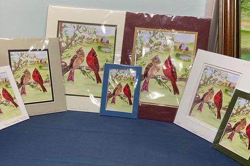 Summer Cardinals prints