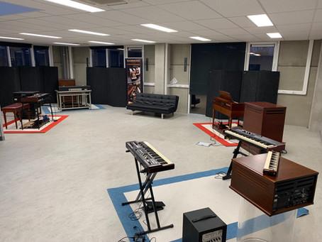 De Showroom krijgt vorm !