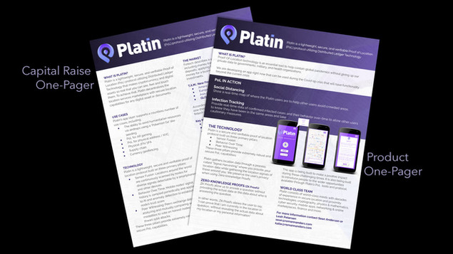 One-Pager Examples