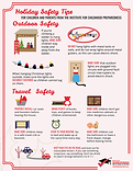 outdoor travel safety info-graphic