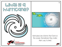 hurricane social story