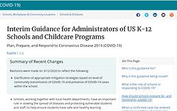 interim guidance for administrator k-12.