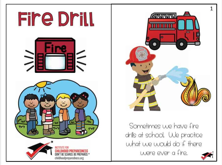 fire drill, social stories, child care, child care program, child care provider, autism, children with autism, early childhood, ece, early childhood education, emergency preparedness, emergency preparedness drills
