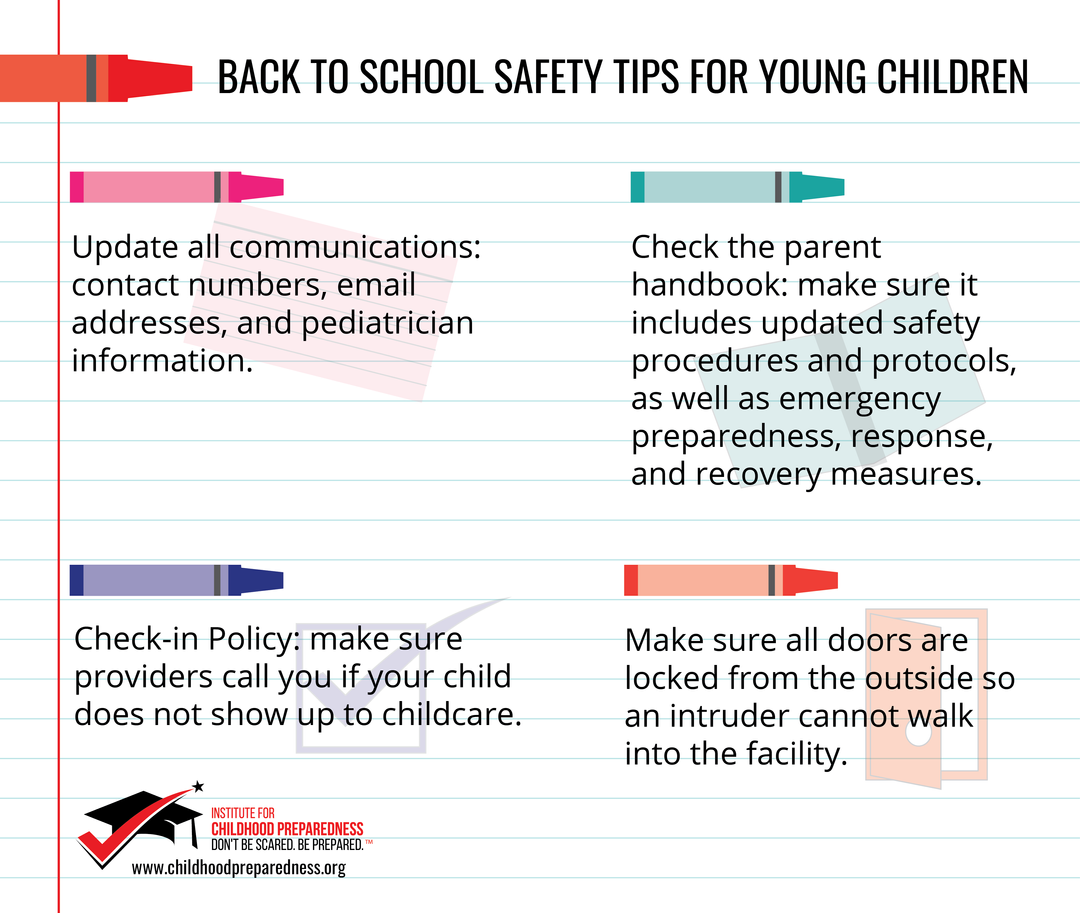 Back to school tips for young children