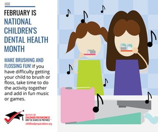 Make brushing fun national children's dental health month