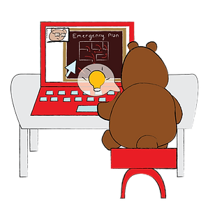 bears online training illustration