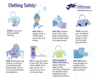Snow Clothing Safety