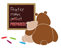 practice makes prepared graphic