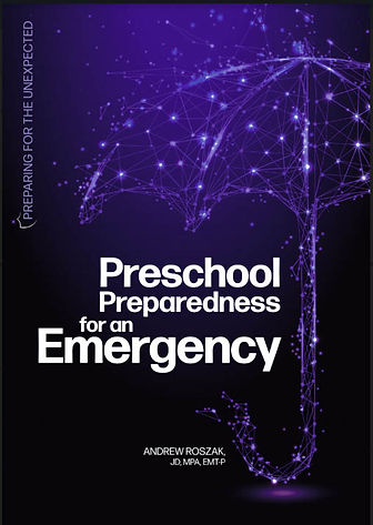 preschool prep emergency book cover