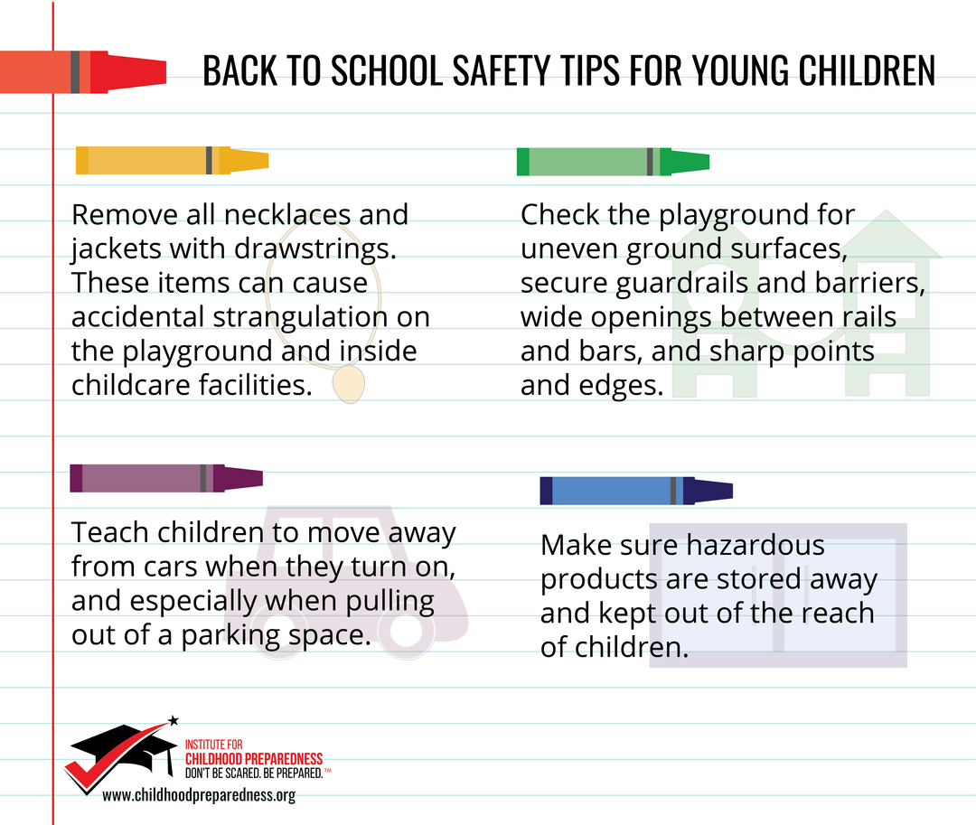 Back to school Safety Tips for young children-2