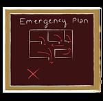 emergency drill icon