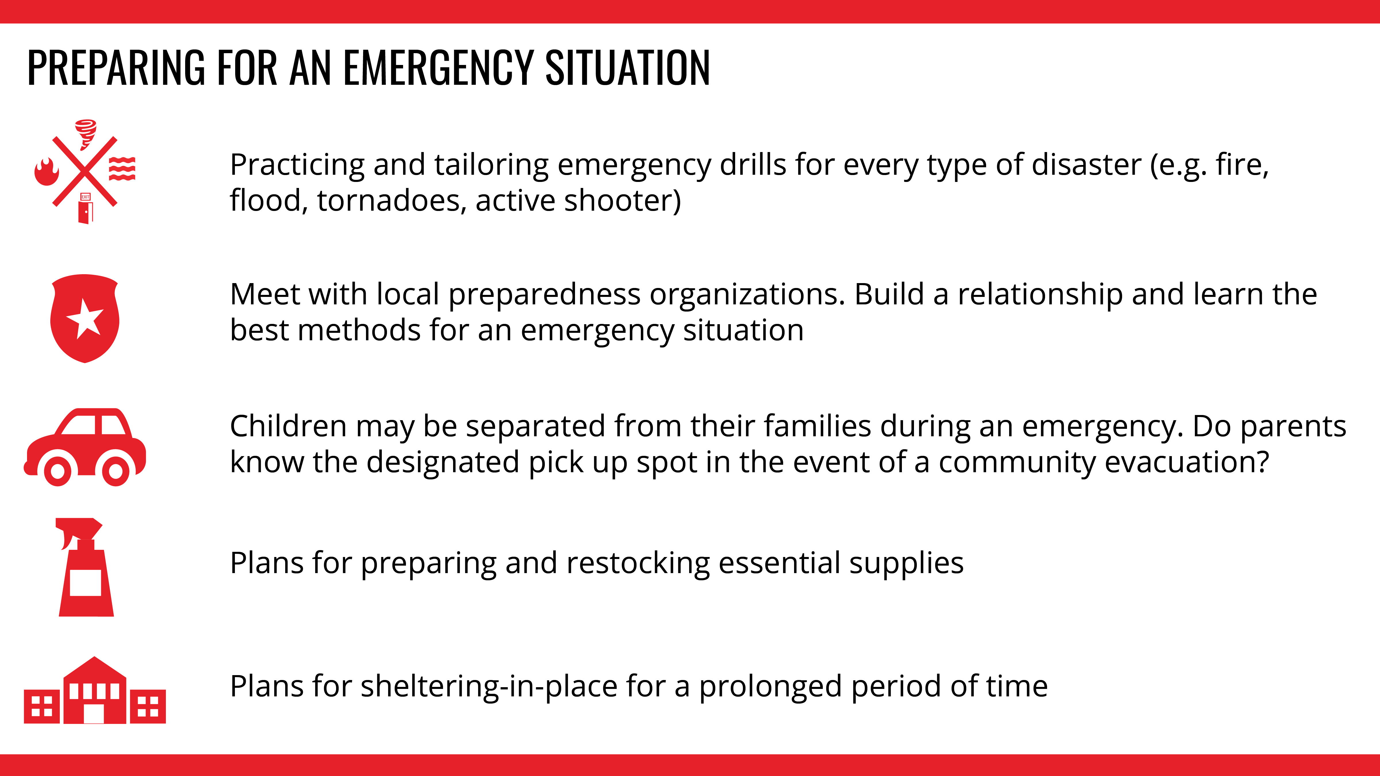 Resources | Institute for Childhood Preparedness